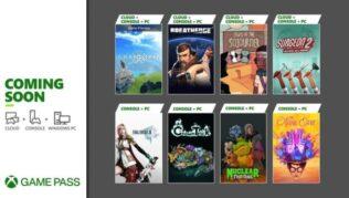 Primera tanda de juegos para Xbox Game Pass en septiembre