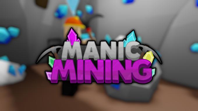 Roblox Manic Mining Códigos Octubre 2021