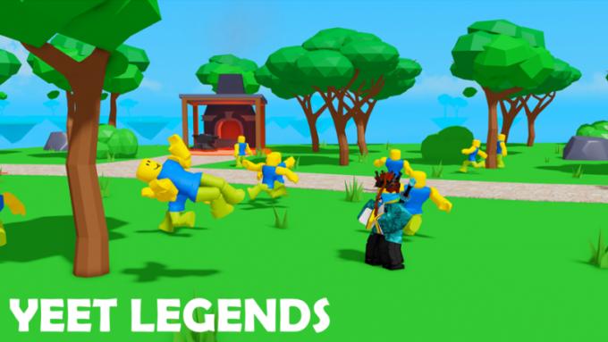 Roblox Yeet Legends Códigos Octubre 2021