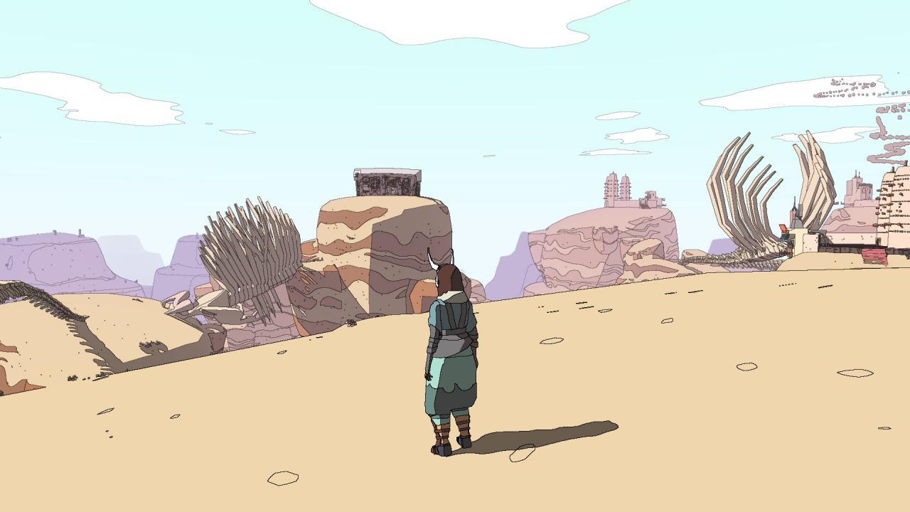 SABLE - Cómo llegar a los escombros de Badlands 1