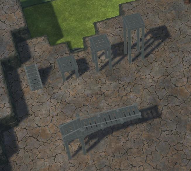 Timberborn - Byggestørrelser og former 1