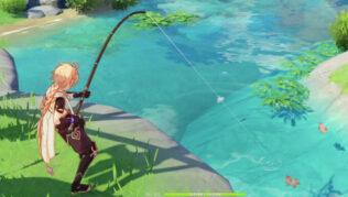 Genshin Impact - Lugares de Pesca del pez Medaka