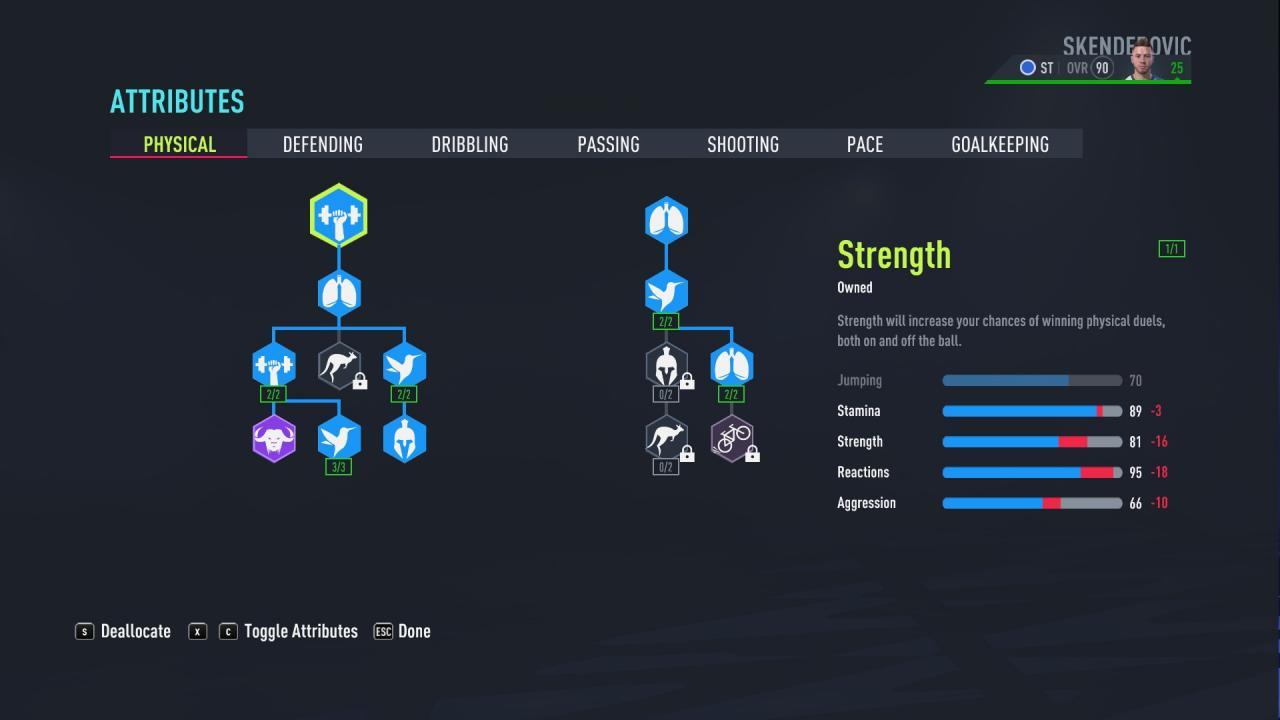 FIFA 22 - Puntuación de 90 en el modo Carrera del Jugador como Delantero 2