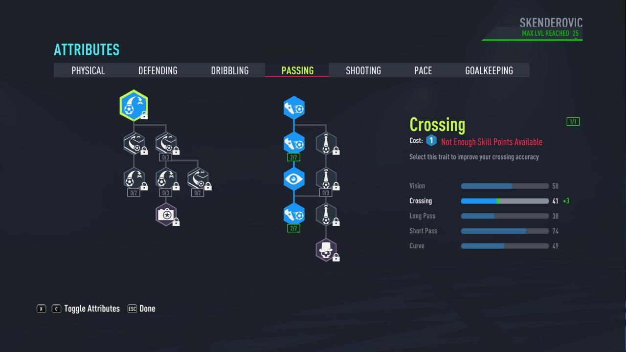 FIFA 22 - Puntuación de 90 en el modo Carrera del Jugador como Delantero 4