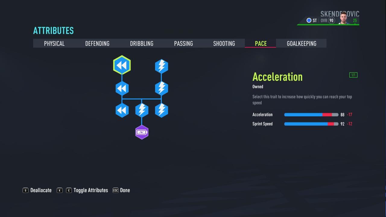 FIFA 22 - Puntuación de 90 en el modo Carrera del Jugador como Delantero 6
