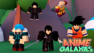 Roblox Anime Galaxies Códigos Octubre 2021