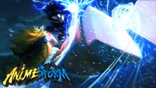 Roblox Anime Storm Códigos Octubre 2021