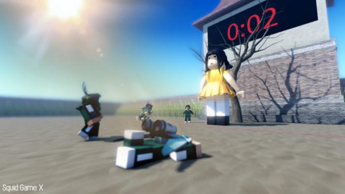 Roblox Squid Game X Códigos Octubre 2021