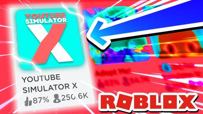 Roblox YouTube Simulator X Códigos Octubre 2021