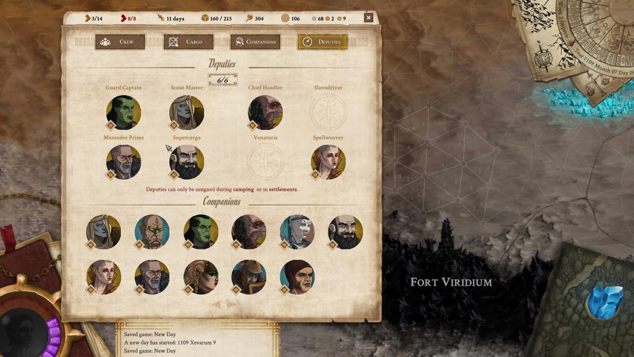 Vagrus – The Riven Realms - Guía de Compañeros 1