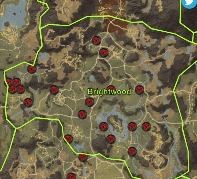 donde conseguir arandanos en brightwood